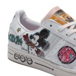 adidas SUPERSTAR Kasing Lung x Mickey Mouse x adidas Mickey Twist [FOOTWEAR WHITE / FOOTWEAR WHITE / CORE BLACK] (GZ8839)