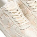 NIKE AIR FORCE 1 07 PRM 3 [PALE IVORY / SAIL-GUAVA ICE] (AT4144-100)